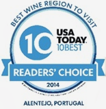 Enoturismo - Best Wine Region Visit 2014